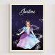 Livre personnalisé enfant cadeau original princesse danseuse deguisement