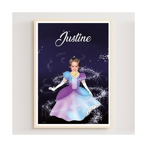 Cadeau personnalisée princesse avec photo