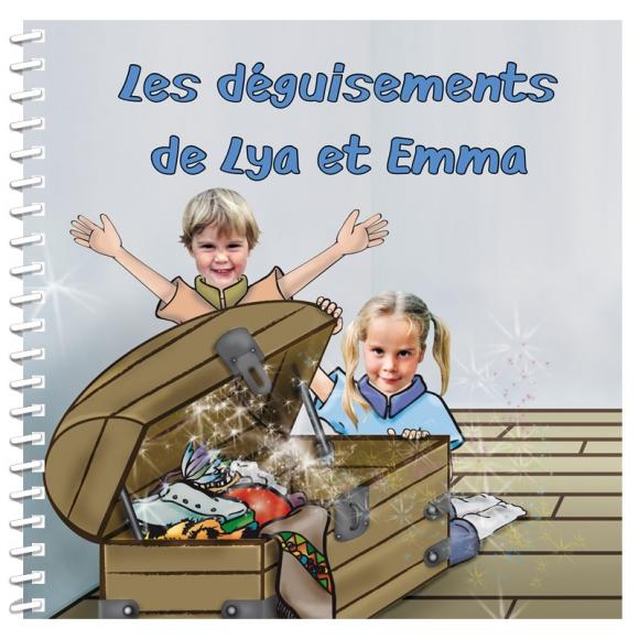 Livre personnalisé avec photo pour deux enfants