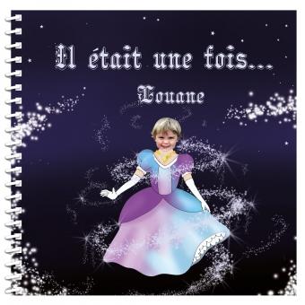 Livre personnalisé pour petite fille princesse